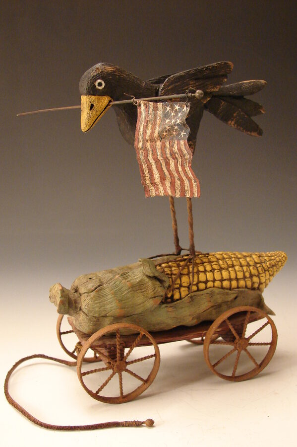 Folk Art Blackbird